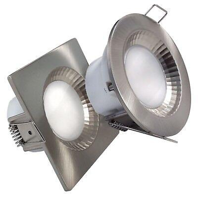 LED Bad Einbaustrahler IP54 5W Feuchtraum Dusche Spot Deckenspot Einbauspot  ()