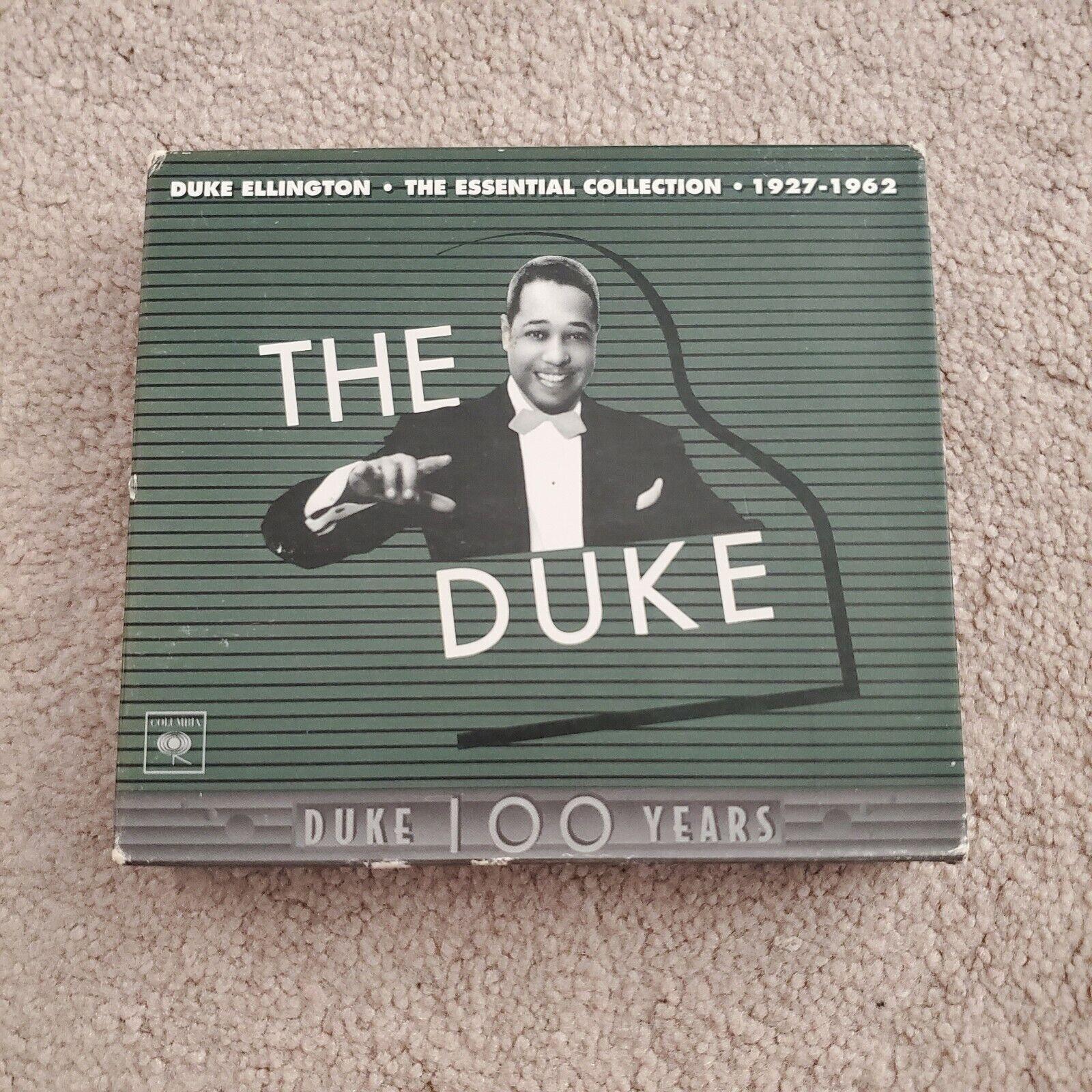 Duke Ellington The Duke The Columbia Years 1927-1962 3-CD Set W/Book - VG - $8.00