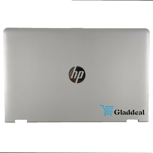 NEW For HP Pavilion 15-BR 15-BR001LA Laptop LCD Back Cover Silver 924499-001 USA