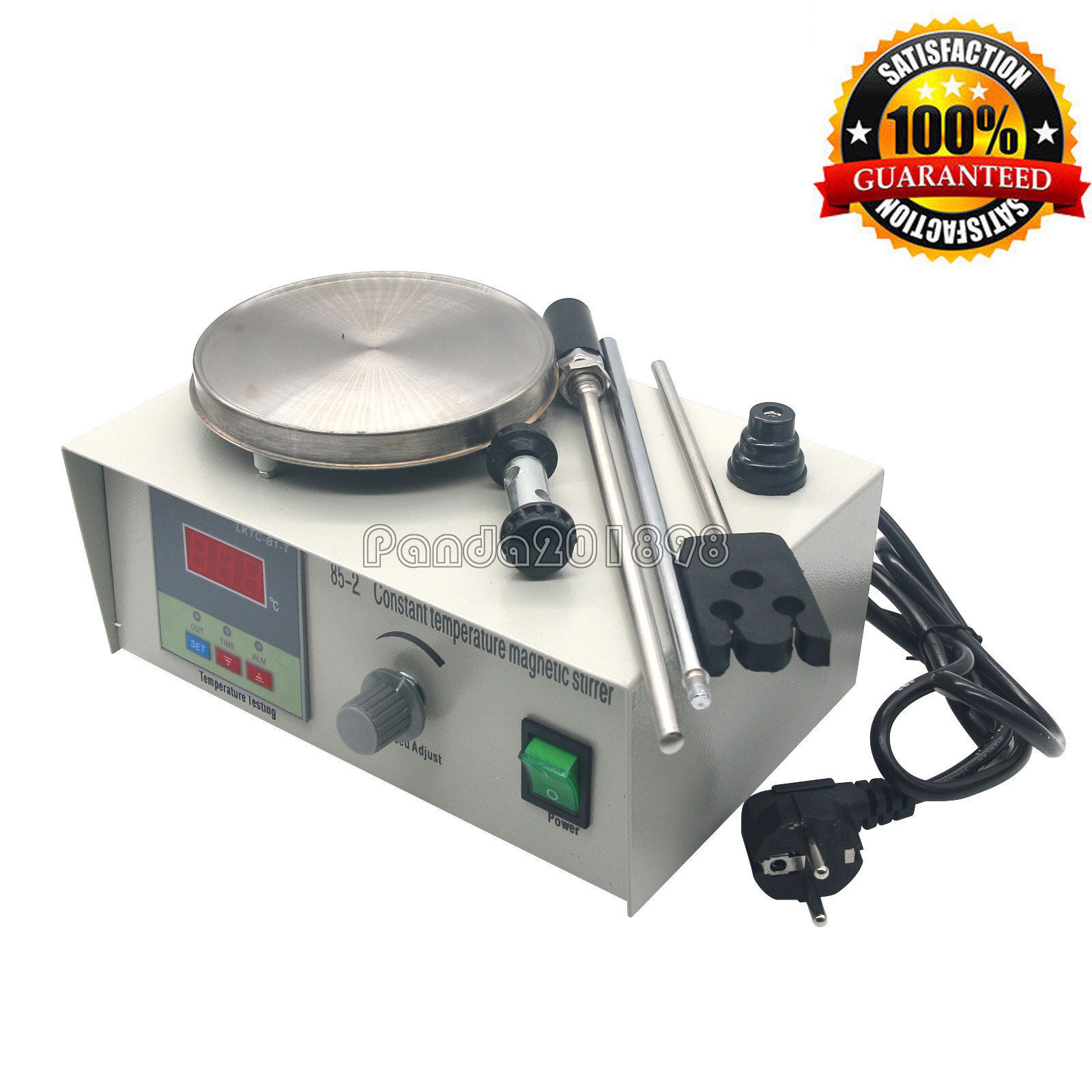 Magnetrührer Heizung Heizplatte 85-2 Magnetische Mixer Stirrer 220V paEU DE fas