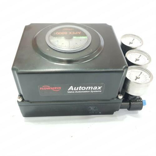 FLOWSERVE AUTOMAX APEX 8000 80147AFT VALVE HIGH PERFORMANCE POSITIONER 30 TO 150