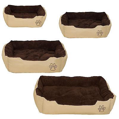 Lettino per cani cuscino una coperta per gli animali cuccia cane letto marrone