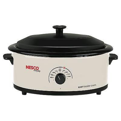 Nesco® 6 Qt. Roaster Oven - White
