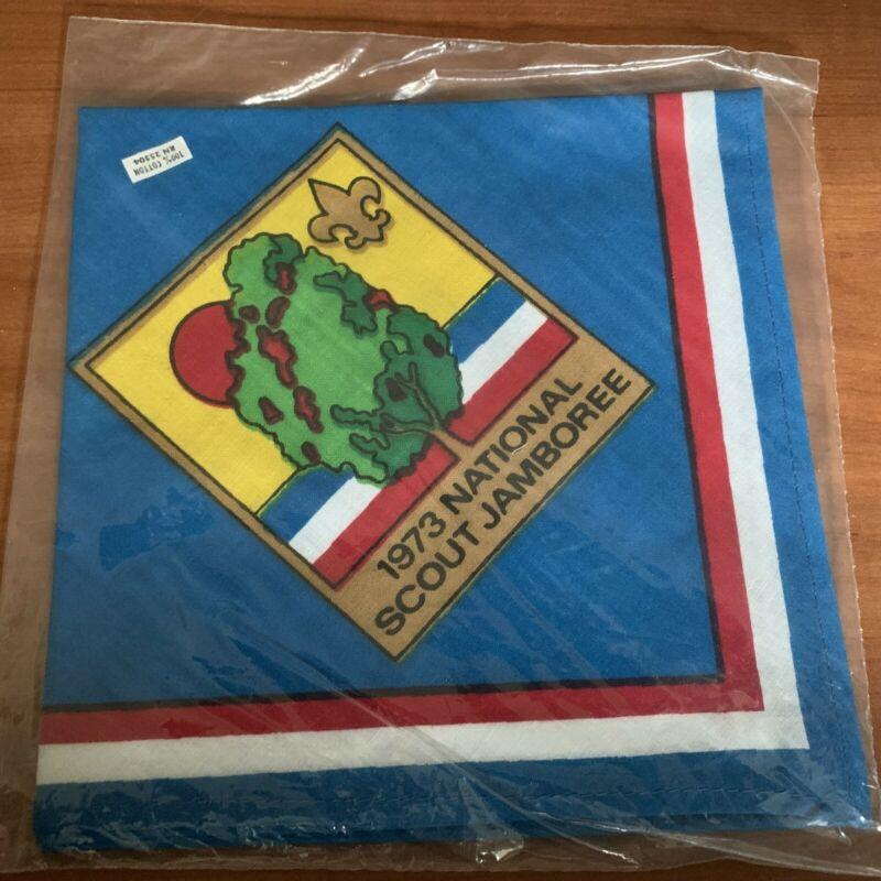 BSA, 1973 National Jamboree Neckerchief, Blue
