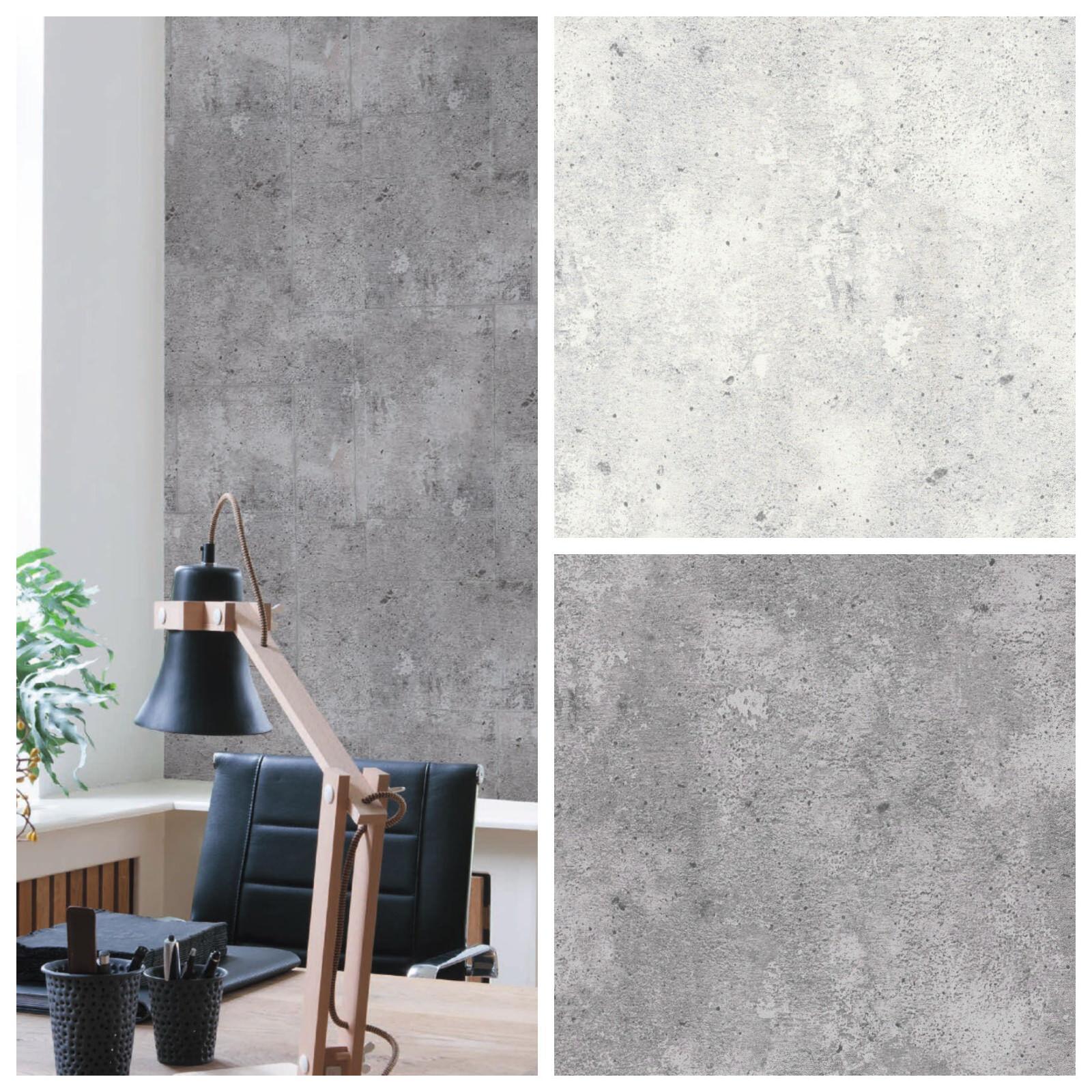 Купить vliestapete beton optik hell grau / grau betontapete на ebay