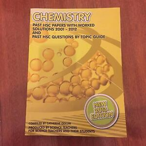 CHEMISTRY HSC past paper Concord Canada Bay Area Preview