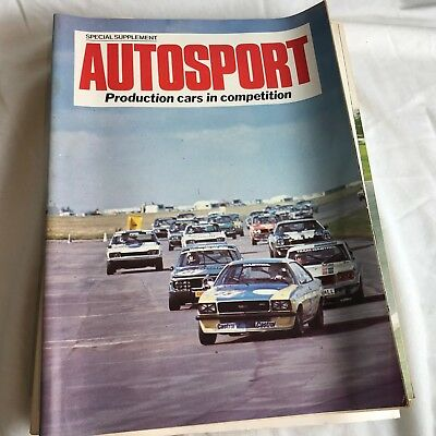 VINTAGE AUTOSPORT MAGAZINE MAG PRODUCTION CARS IN COMPETITION RACING CARS
