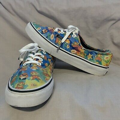 Limited Edition Super Mario x Vans UK Men's Size 5, US 6 Original Laces Nintendo