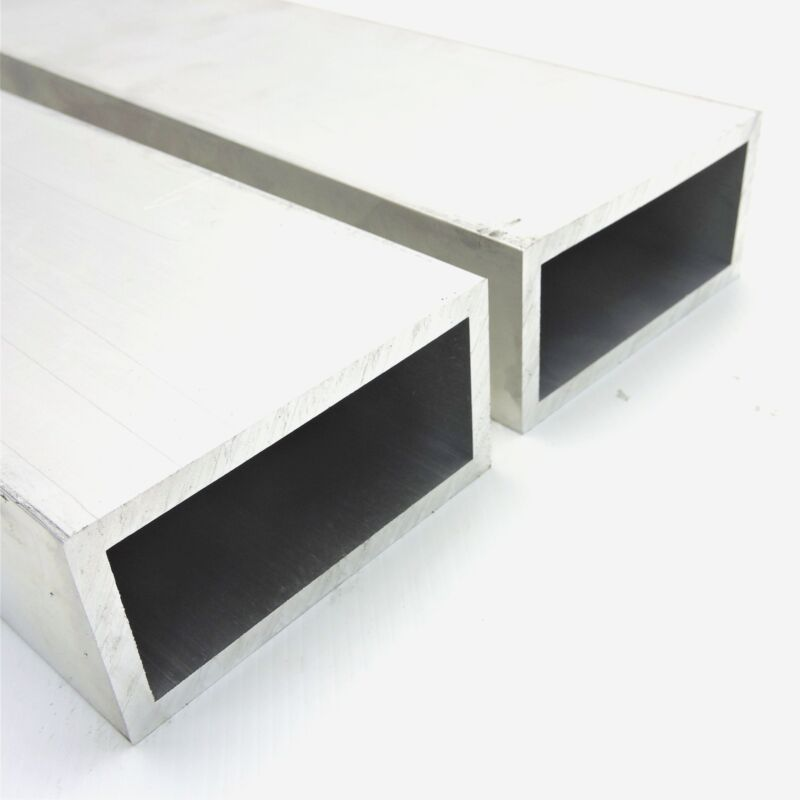 "2"" x 4"" OD Alumnum Square TUBING  .25"" wall thickness 41.5"" long QTY 2 sku174029"