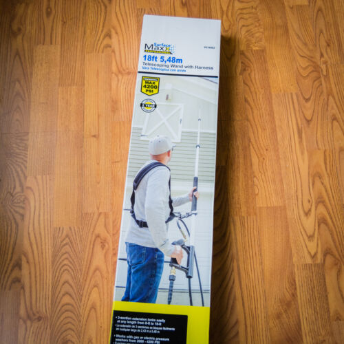 *NEW* Surface Maxx Professional 18-foot Telescoping Pressure Washer Wand