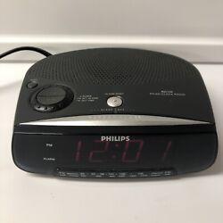 Philips AM/FM Alarm Clock Radio Model AJ3120 (Works fine!)