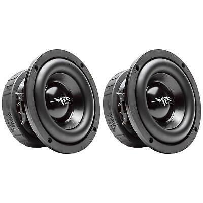 (2) SKAR AUDIO EVL-65 D4 6.5