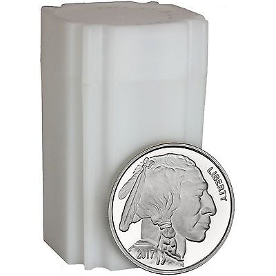2017 American Buffalo 1oz .999 Silver Medallion by SilverTowne (20pc)