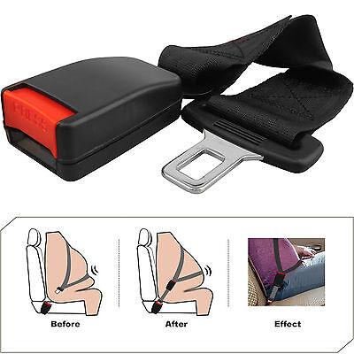 36CM ADJUSTABLE CAR AUTO SAFETY SEAT BELT SEATBELT EXTENSION EXTENDER BUCKLE