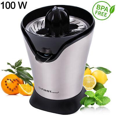 Zitruspresse Saftpresse elektrisch Edelstahl Orangenpresse 100 W Citrus juicer