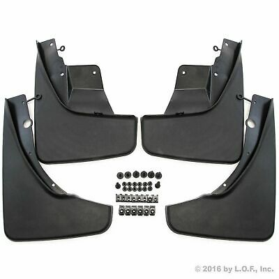 2011-2017 Jeep Grand Cherokee Mud Flaps Mud Guards Splash Molded Front Rear 4pc