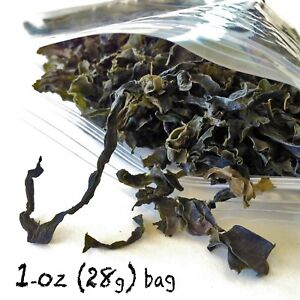 WAKAME Dried Seaweed Japanese SILVER PACIFIC for MISO SOUP SALAD 1-oz DRY WAKAMI