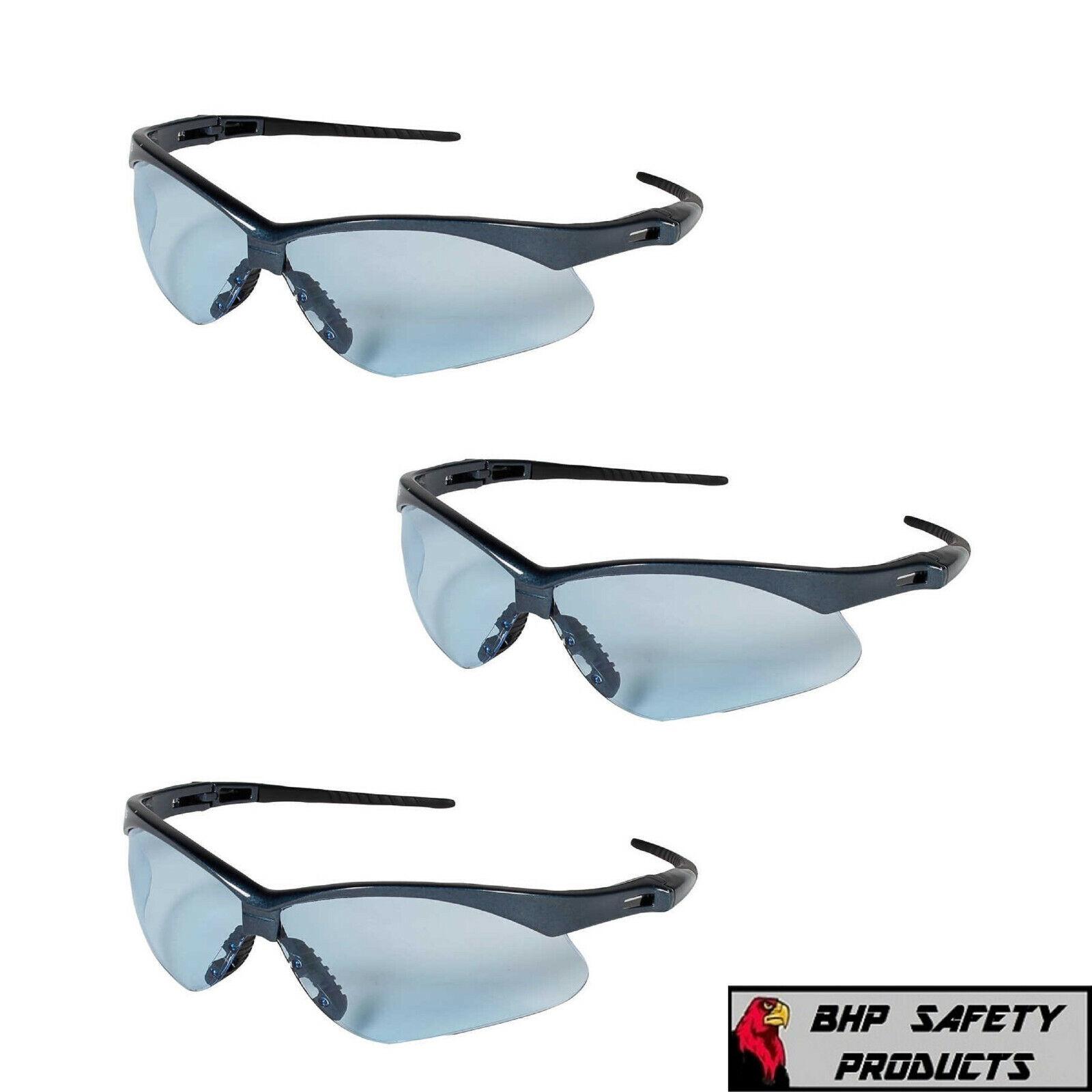 3 pair jackson nemesis safety glasses light