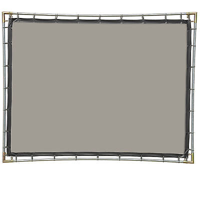 Rear Projection Screen Kit - Carl's Rear Projection Film, 4:3, 6.75x9, Hanging Projector Screen Kit, Gray