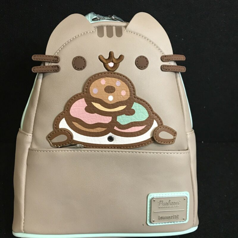 Loungefly Pusheen Plate O Donuts Cosplay Mini Backpack New In Hand