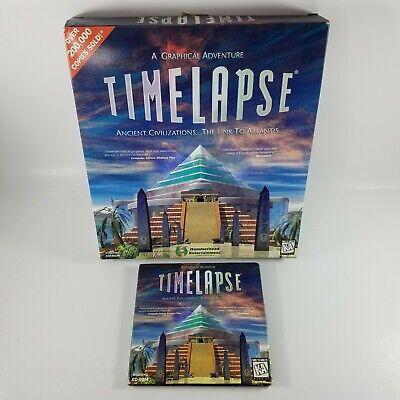 Timelapse Ancient Civilizations The Link to Atlantis (1998) Big Box PC