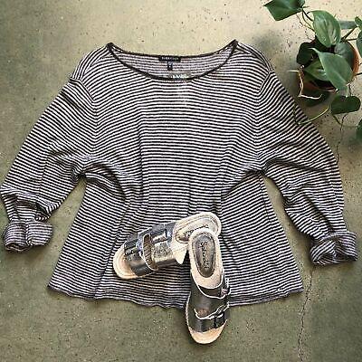 Eileen Fisher 100% Linen Lightweight Sweater Size XL