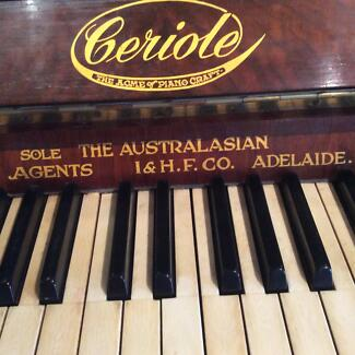 Conn electric organ k16054 model 641 keyboards pianos antique ceriole upright piano fandeluxe Choice Image