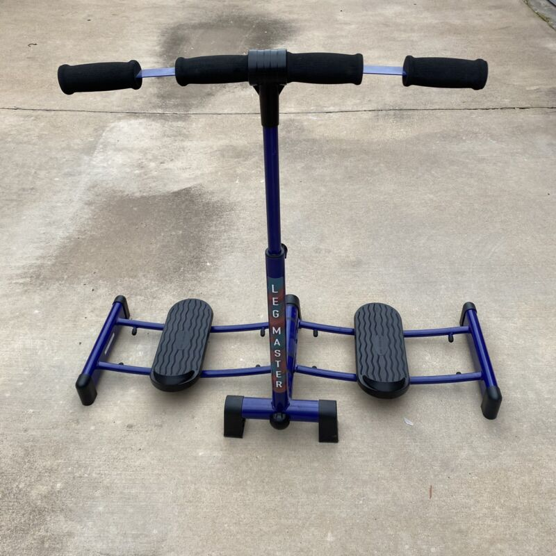 Summers Leg Master Exercise Machine Blue Excellent Condition with Manual & Tool