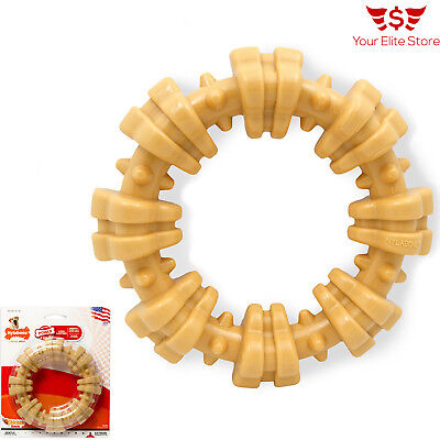 Pet Dog Ring Toys For Aggressive Chewers Tough Durable Large Jumbler Ball Nylon