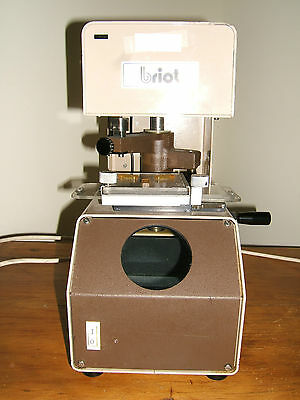 Vintage Briot 1986 Accura Optronics Lab Equipment France
