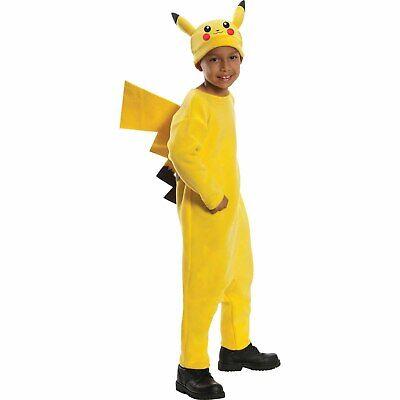 Baby Pikachu Halloween Costumes (Pokemon Pikachu Child Halloween Costume size)