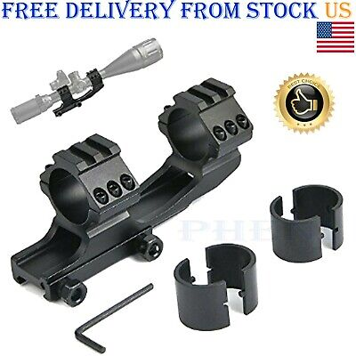 BEST Rifle Scope Mount Rings 1 inch/ 30mm Cantilever for 20mm Picatinny (Best 1 Inch Scope Rings)