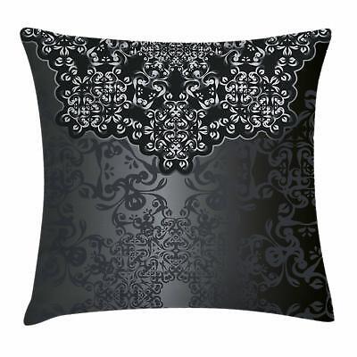 Dark Grey Throw Pillow Cases Cushion Covers Home Decor 8 Siz