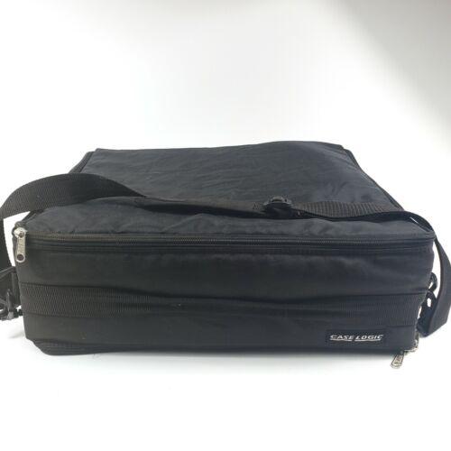 Case Logic Double Sided 120 Cassette Holder Soft Carrying Case w/ Shoulder strap