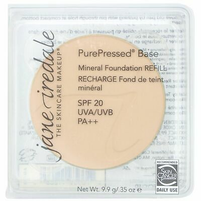 Jane Iredale PurePressed Base Mineral Foundation- WARM SILK REFILL
