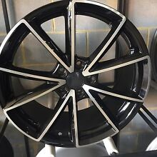 """19"""" inch rs4 black machined wheels Audi A4 s3 a3 alloy rims Rockdale Rockdale Area Preview"""