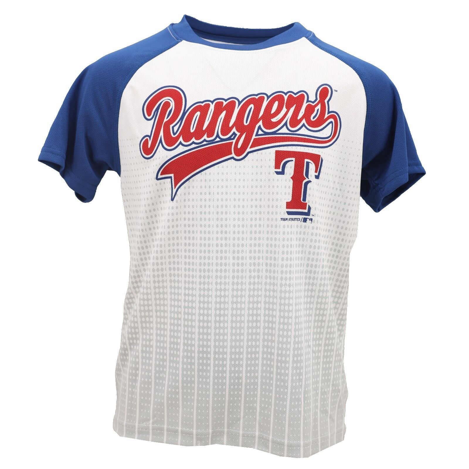 Details about Texas Rangers Official MLB Genuine Kids Youth Size Athletic  Shirt New with Tags 74992a818