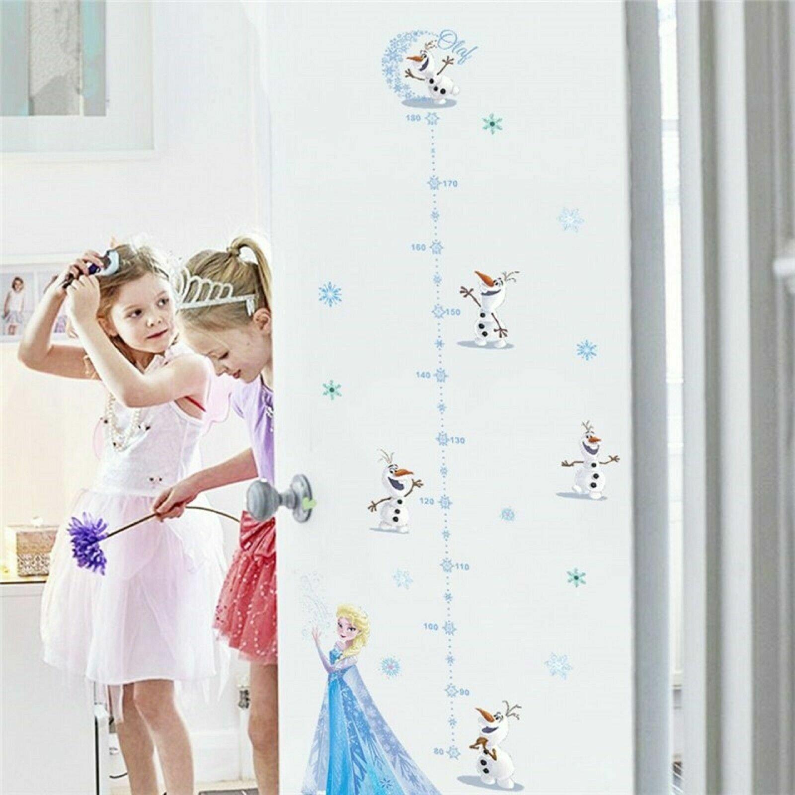 Decals Stickers Vinyl Art Wandtattoo Aufkleber Kindermotive Disney Anna Und Elsa Home Garden Gefradis Fr