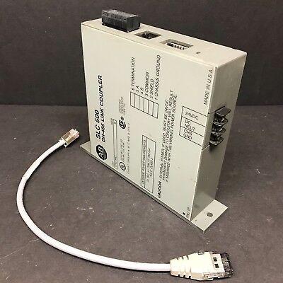 Allen Bradley 1747-aic Ser B 1747-c11 A Slc 500 Dh-485 Link Coupler Plc Cable