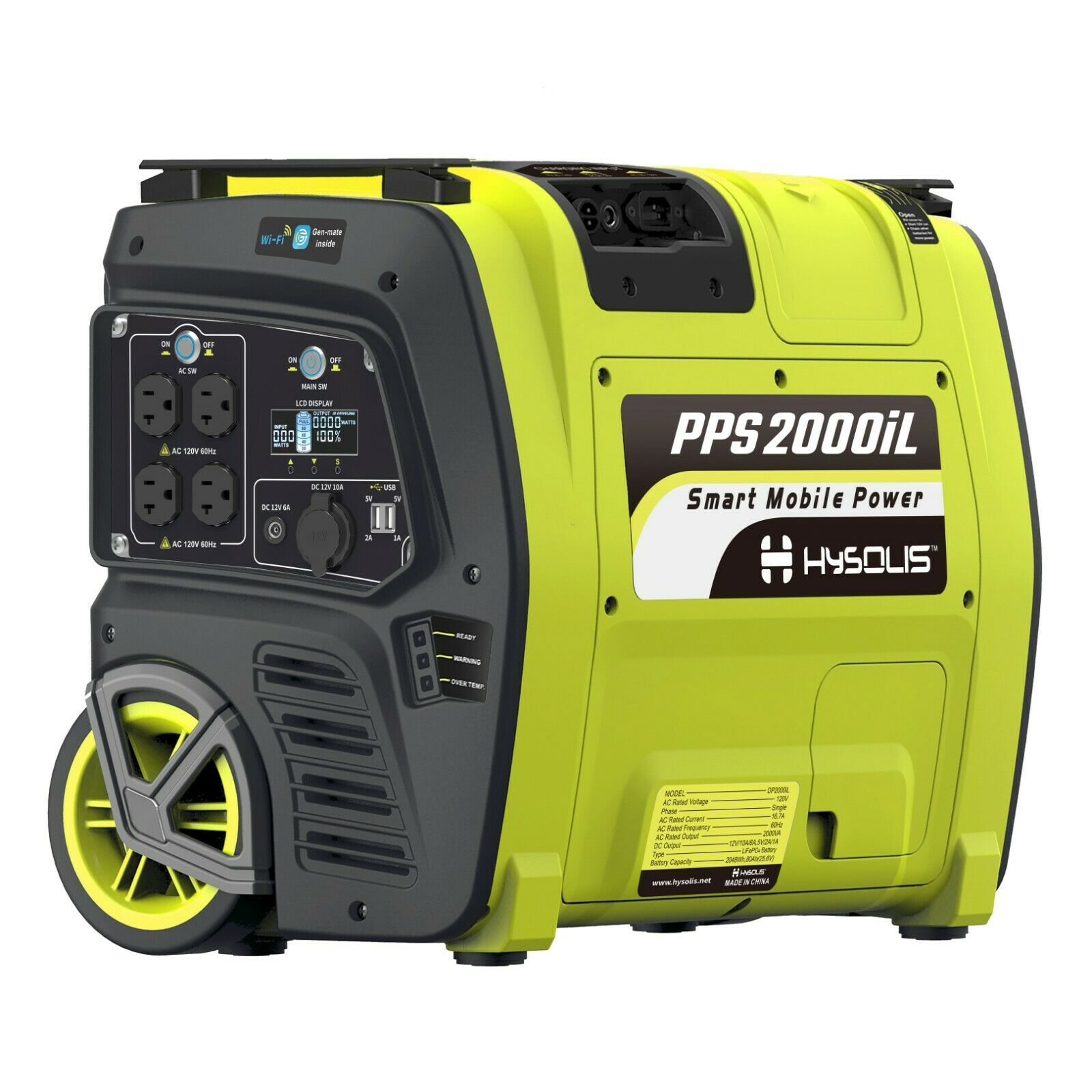 Portable Solar Generator 2KW Lithium Battery off grid mobile power station