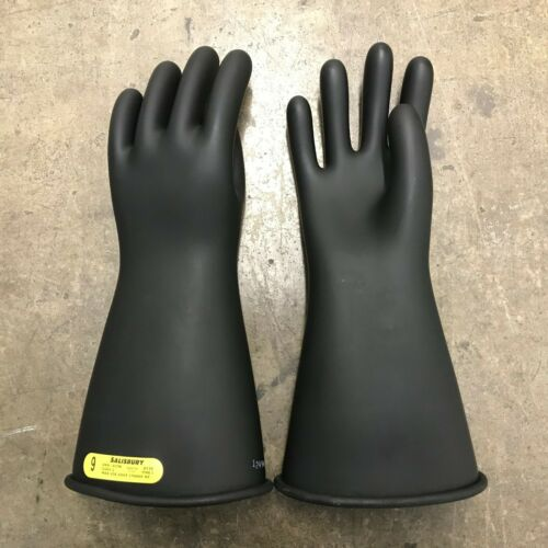 NEW Salisbury Honeywell Lineman Rubber Gloves Size 9 / Class 2 / Type 1, F-48