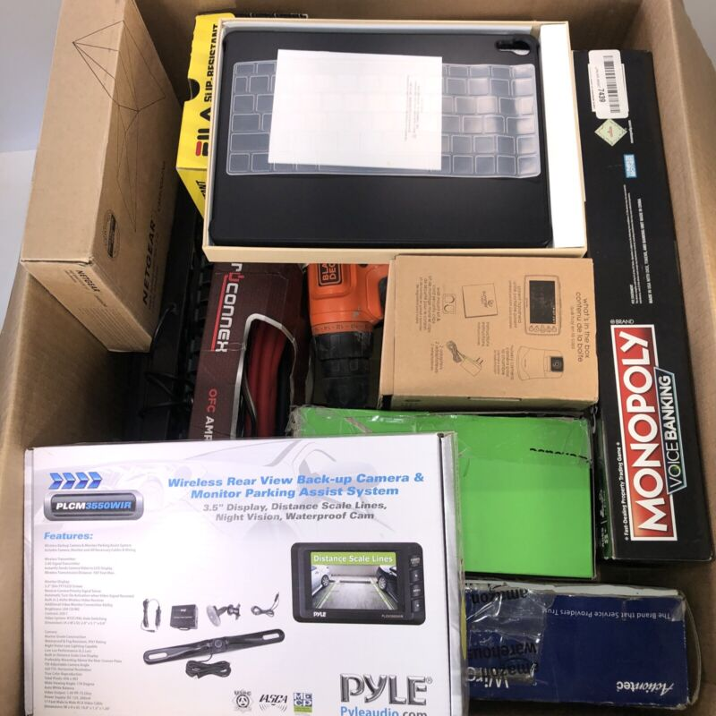 Wholesale Reseller Lot Of Amazon Assorted Untested Returns Electronics Camera