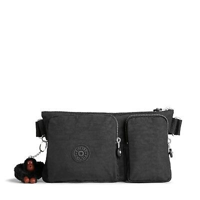 Kipling Waistbag PRESTO UP Shoulder Bag Bumbag TRUE BLACK RRP £59