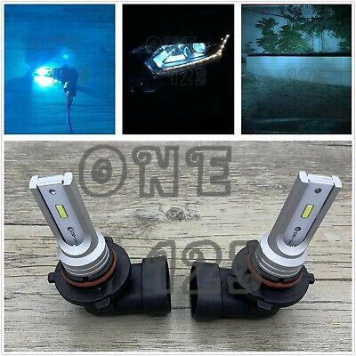 2x 9005 HB3 CSP LED Headlights Bulbs Conversion Kit High Beam 8000k Ice Blue 35W