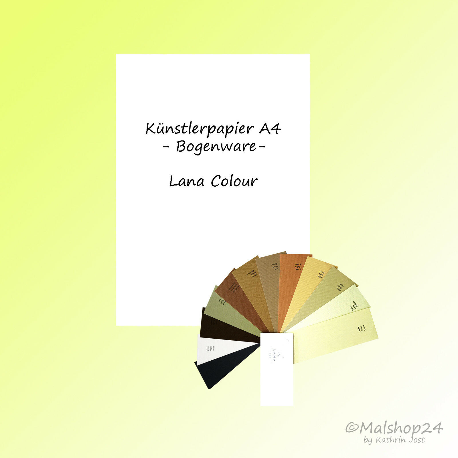 "Künstlerpapier ""Lana Colours"" Papier f. Pastellkreide Bleistift Pastellstifte ua"