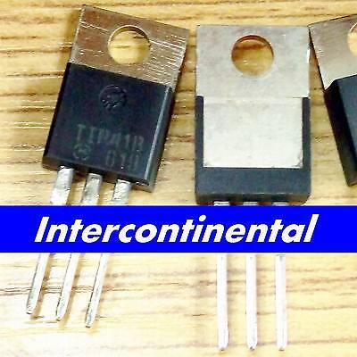 10pcs Dip Transistor Tip41b Tip41 Motorola To-220