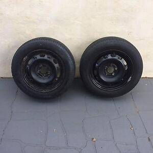 Volkswagen Polo 14 inch Steel Wheels (with tyres) Cleveland Redland Area Preview