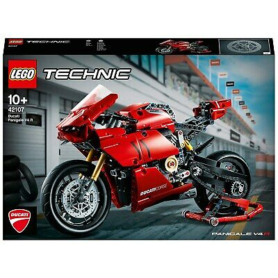 Brand New LEGO TECHNIC 42107 Ducati Panigale V4 R, 646 Pcs - Available Now