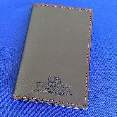 Tissot BUSINESS CARD HOLDER Black Leather BEST QUALITY (Best Mens Wallets 2019)