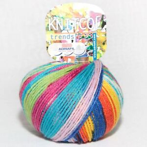 Adriafil Knitcol DK Yarn / Wool 50g - Beethoven Fancy (062)